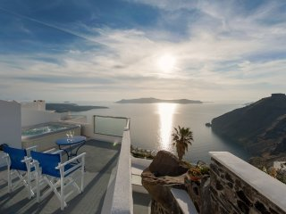 Family Apartments in Santorini