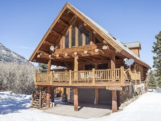 Custom Built Log Home on 3 Acres - Covered Decks - Fire Pit and Pool Table