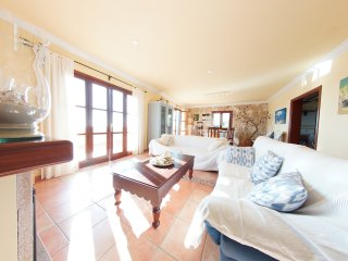 Villa Rústica Can Neula Nou 6+2P- Terraza-BBQ-Tranquilidad Vistas Cerca Playa
