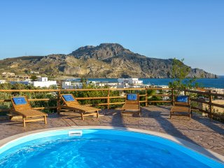 200m from a Sandy Beach, Pool villa Elli in south Crete