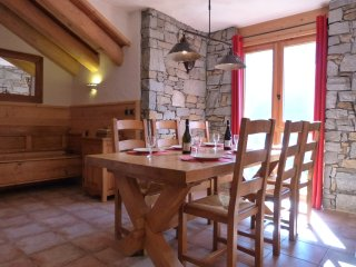 Dine with a stunning mountain view