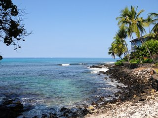 Beautiful Private Ocean Front Home on Lyman's Bay, Kailua-Kona