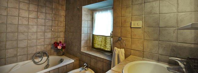 House One master bathroom