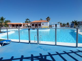 Luxury poolside bungalow