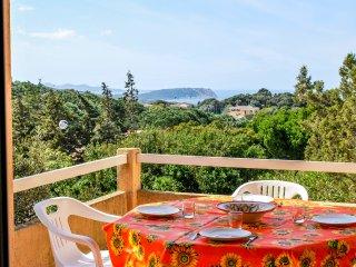Bilocale con veranda vista mare in residence con Piscina, Santa Teresa Gallura
