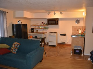 Modern Wrightwood Studio.  Great location!  3 mi Mountain High Ski Resort!