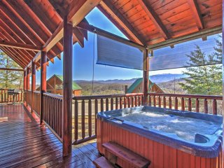 NEW! 2BR Pigeon Forge Cabin w/ Private Hot Tub!