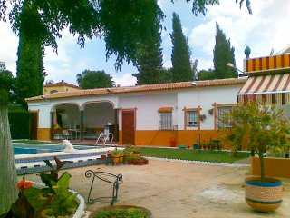 Invidual villa with private pool 25 km from sevilla, Aznalcázar