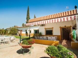 Casa Rural Herrero. villa with private pool 25 km from sevilla