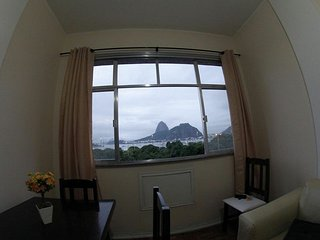 Charmous apartment in Rio de Janeiro, fantastic view to the Sugarloaf Mountain
