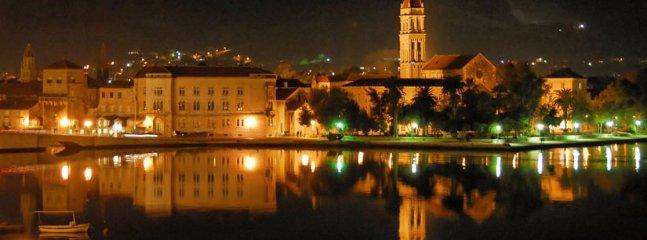Trogir by night!