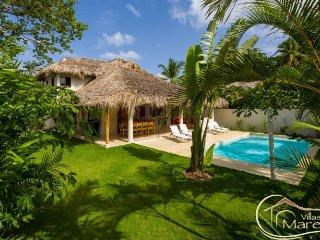 Spectaculaire Maina pour des vacances inoubliables, 300 m de la plage, Las Terrenas