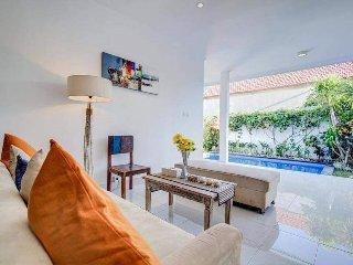 villa bidadari 2 bedrooms, breakfast and airport transfers included