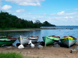 The shores of Lough Mask