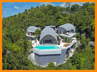 4231 - Unique and stylish with infinity pool and seaviews, Chaweng