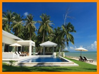 3140 - Beachfront luxury with Thai chef service, Laem Set