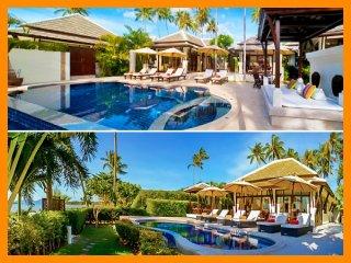 S6237 - 2 side-by-side villas, sleep 12, Plai Laem