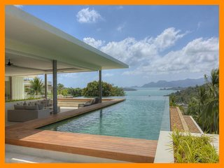 6220 - Unique and stylish with infinity pool and seaviews, Choeng Mon