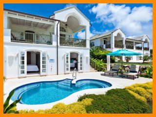 Beautiful 4 bedroom villa, located on Royal Westmoreland Golf course, stunning s