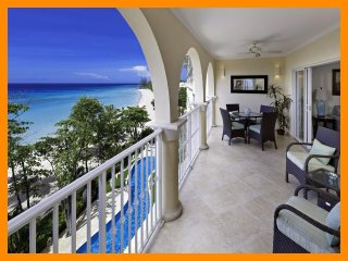 Sapphire Beach 407 - Beachfront condo with beach views and communal pool