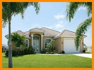 Cape Coral 53 - Premium waterfront villa with a private pool and boat dock