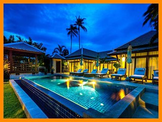Plai Laem 3001 - Beachfront private pool and sunset views