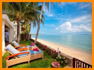 5087 - Beachfront luxury with Thai chef service and shared gym