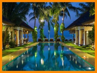 6029 - Beachfront luxury with Thai chef service