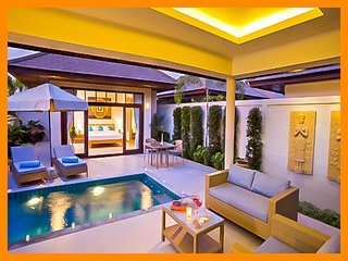 1086 - Perfect honeymoon villa with private pool