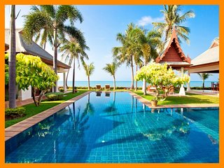 5089 - Beachfront luxury with Thai chef service and shared gym