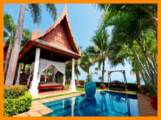 4093 - Beachfront luxury with Thai chef service and shared gym