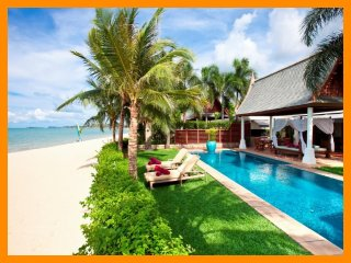 4096 - Beachfront luxury with Thai chef service and private gym