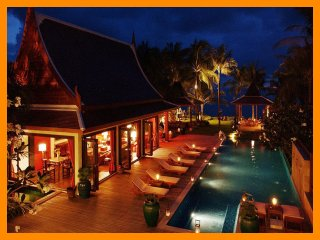 5147 - Beachfront luxury with Thai chef service, Lipa Noi