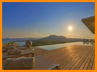5164 - Unique and stylish with infinity pool and seaviews, Choeng Mon