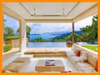 5171 - Unique and stylish with infinity pool and seaviews, Choeng Mon