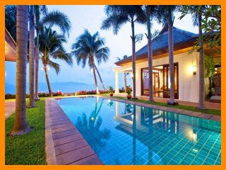 5091 - Beachfront luxury with Thai chef service and shared gym