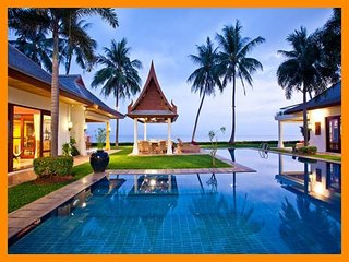 6026 - Beachfront luxury with Thai chef service and shared gym, Mae Nam