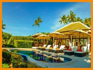 2005 - Great value beachfront villa with private pool, Plai Laem
