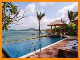 2158 - Bophut beachfront with Thai chef service, Mae Nam
