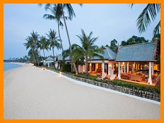 Maenam 3017 - Beachfront luxury with Thai chef service and shared gym