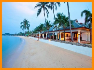 Maenam 3087 - Beachfront luxury with Thai chef service and shared gym
