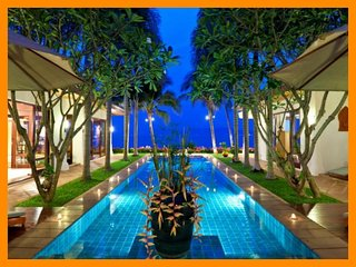 Maenam 3091 - Beachfront luxury with Thai chef service and shared gym