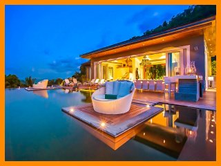 3078 - Seaview luxury with Thai chef service and spa therapist