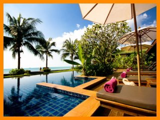 3100 - Beachfront luxury continental breakfast included, Lipa Noi