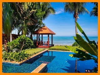 2100 - Beachfront luxury continental breakfast included, Lipa Noi