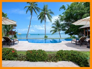 3025 - Beachfront luxury with Thai chef service, Lipa Noi