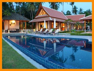 3027 - Beachfront luxury with Thai chef service, Lipa Noi