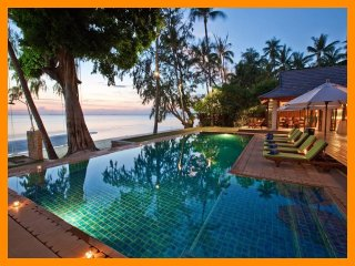 4153 - Beachfront luxury with Thai chef service, Lipa Noi