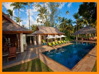 3153 - Beachfront luxury with Thai chef service, Lipa Noi