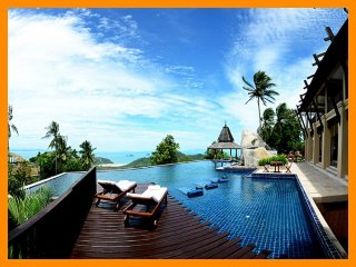 4185 - Seaview luxury with Thai chef service and spa facilities